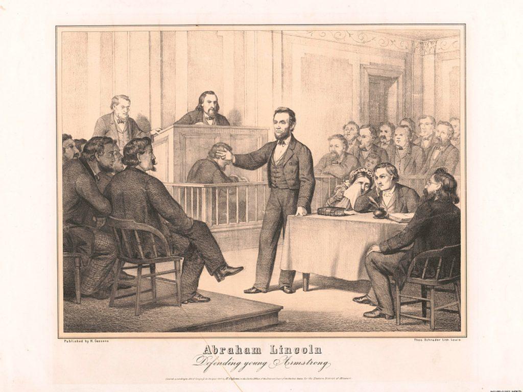 Abraham Lincoln ở phòng xử án