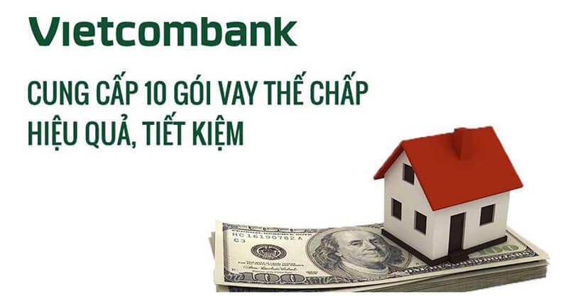 Vay thế chấp sổ đỏ Vietcombank với mức lãi suất thấp