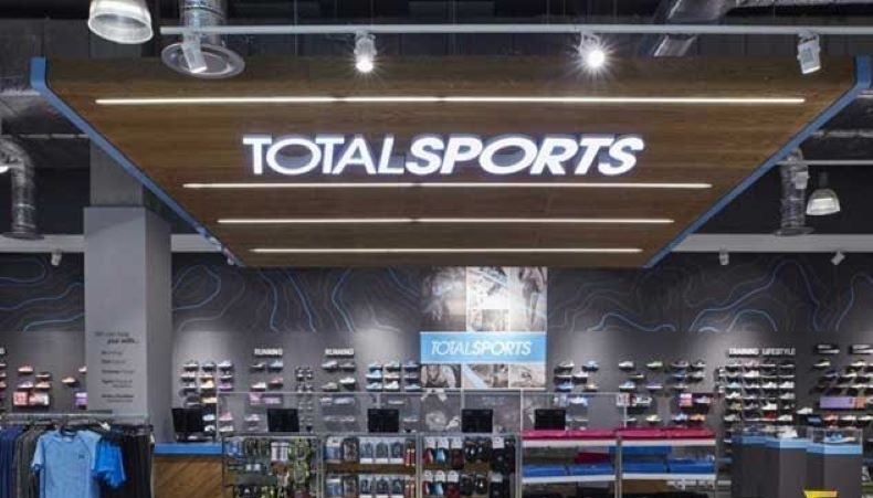 mặt bằng shop thể thao
