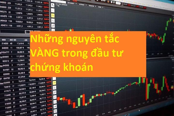 Nguyên tắc vàng trong đầu tư chứng khoán